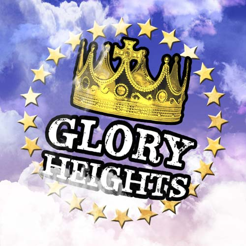 Glory Heights wanted to present a 'clean and crisp' vibe for this particular logo.